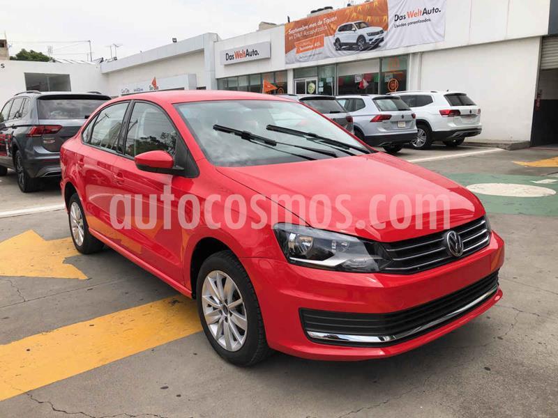 Volkswagen Vento Comfortline usado (2019) color Rojo precio $204,990