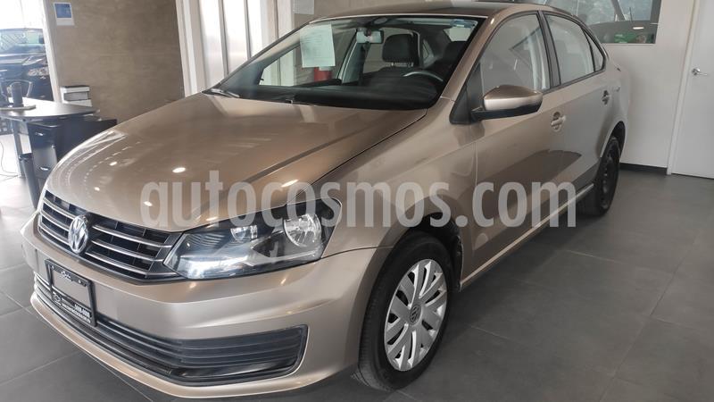 Volkswagen Vento Startline Aut usado (2018) color Beige Metalico precio $154,000