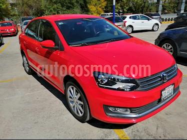 Volkswagen Vento Highline Aut usado (2018) color Rojo precio $205,000