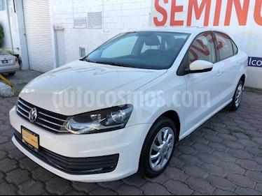Volkswagen Vento 4P STARLINE TM5 A/AC. MP3 R-15 usado (2018) color Blanco precio $165,000