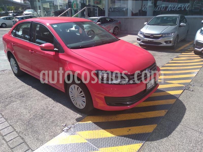 Volkswagen Vento Startline Aut usado (2019) color Rojo precio $185,000