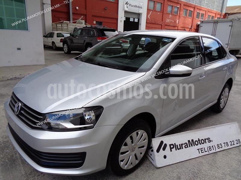 Volkswagen Vento Startline Aut usado (2019) color Plata Dorado precio $189,000