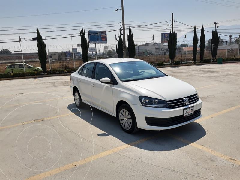Foto Volkswagen Vento Startline Aut usado (2019) color Blanco precio $178,000