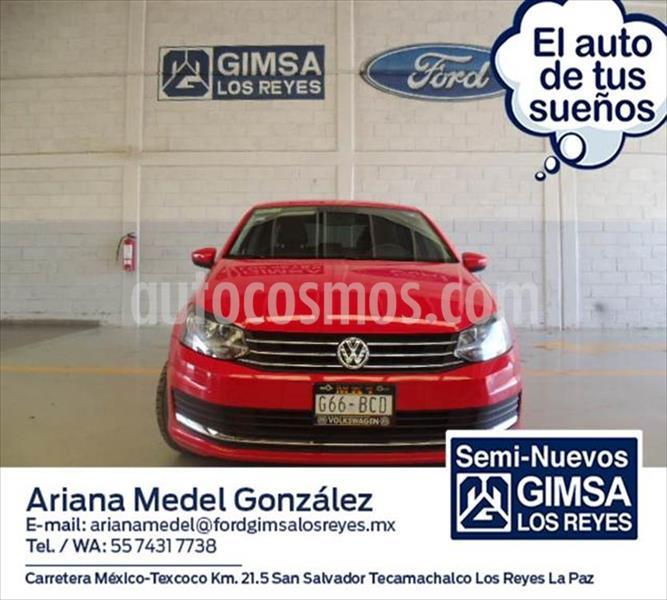 Volkswagen Vento STARTLINE STD usado (2019) color Rojo precio $190,000