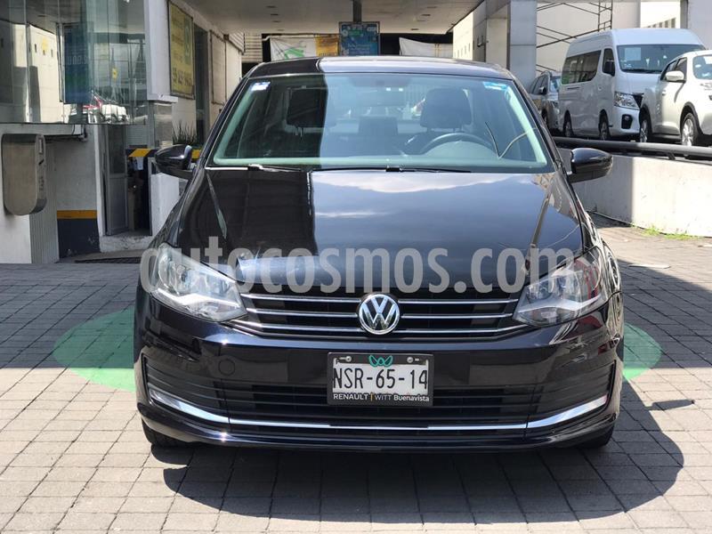 Volkswagen Vento Comfortline usado (2017) color Negro Profundo precio $179,000