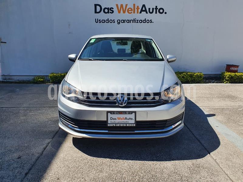 Volkswagen Vento Comfortline usado (2020) color Plata Reflex precio $234,900