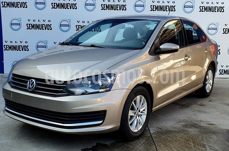 Volkswagen Vento Comfortline usado (2018) color Cafe precio $188,000