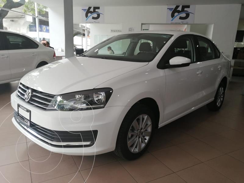 Foto Volkswagen Vento COMFORTLINE 1.6L L4 105HP MT usado (2020) color Blanco Candy precio $219,500