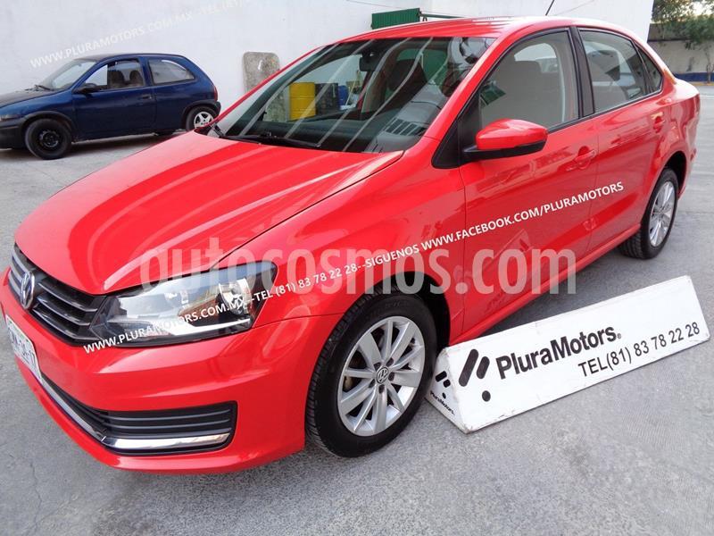 Volkswagen Vento Comfortline usado (2016) color Rojo precio $139,000