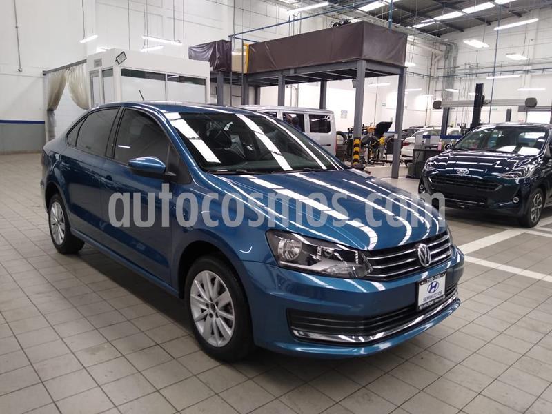 Volkswagen Vento Comfortline TDI usado (2018) color Azul precio $195,000