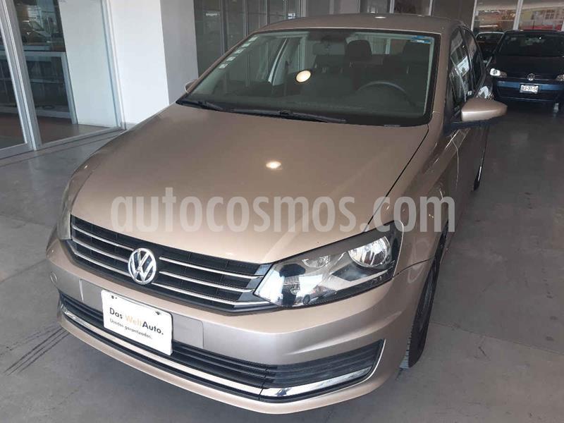 Volkswagen Vento Comfortline usado (2016) color Beige precio $162,500