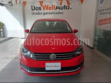 Volkswagen Vento Comfortline Aut usado (2018) color Rojo precio $169,000