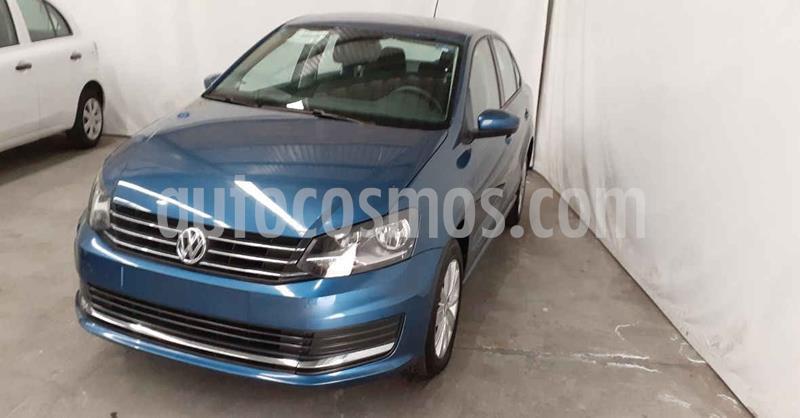 Volkswagen Vento Comfortline usado (2019) color Azul precio $169,900