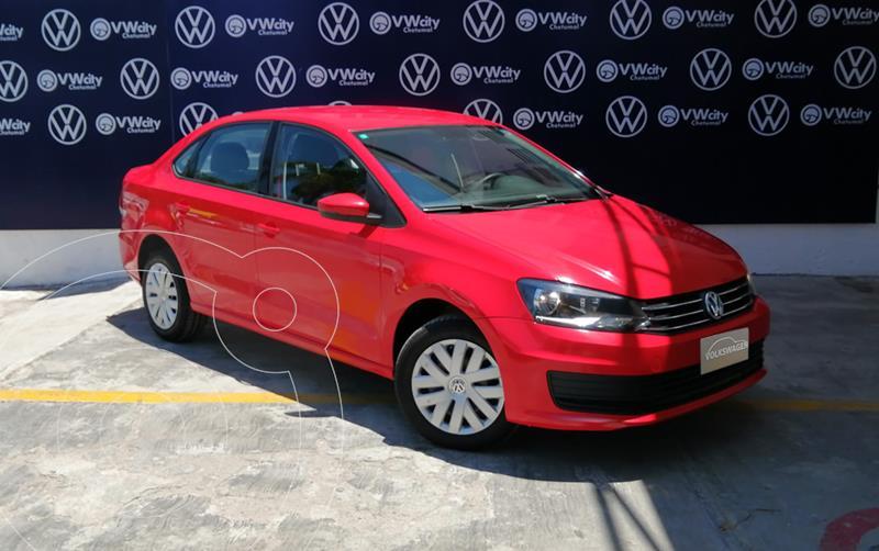 Foto Volkswagen Vento Startline usado (2018) color Rojo precio $160,000