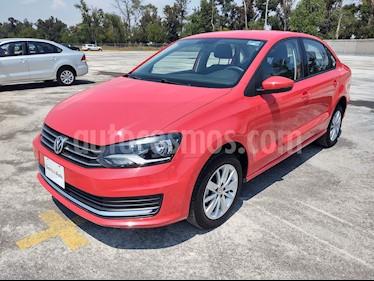 Volkswagen Vento Comfortline usado (2019) color Rojo Flash precio $219,000
