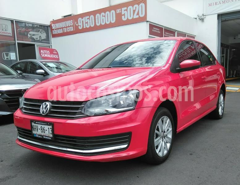 Volkswagen Vento Comfortline usado (2019) color Rojo Flash precio $205,000