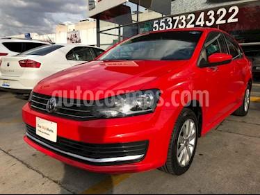 Volkswagen Vento Comfortline usado (2019) color Rojo precio $229,000