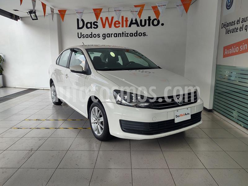Volkswagen Vento Startline usado (2016) color Blanco Candy precio $145,000