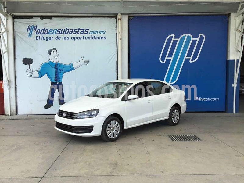Volkswagen Vento Startline usado (2018) color Blanco precio $60,000