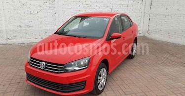 Volkswagen Vento 4p Starline L4/1.6 Aut usado (2020) color Rojo precio $199,900