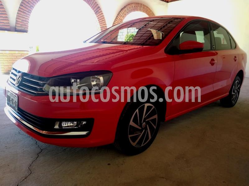 Volkswagen Vento Sound usado (2018) color Rojo Flash precio $190,000