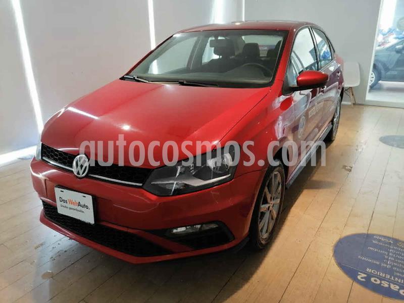 Volkswagen Vento Comfortline Plus Aut usado (2020) color Rojo precio $260,000