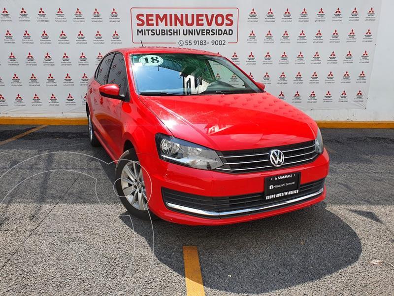 Foto Volkswagen Vento Comfortline Tiptronic usado (2018) color Rojo precio $174,000