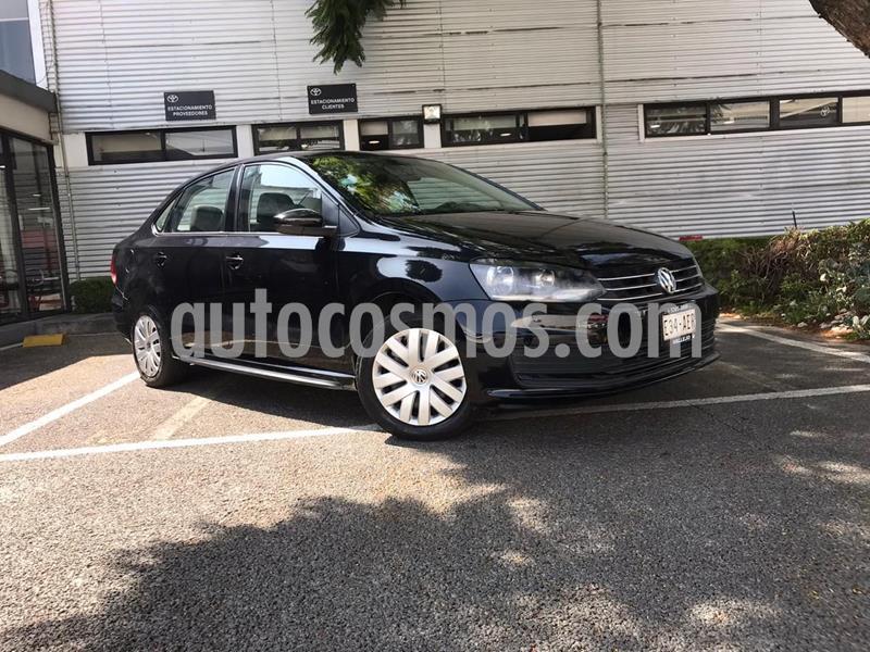 Volkswagen Vento Startline usado (2016) color Negro precio $137,000