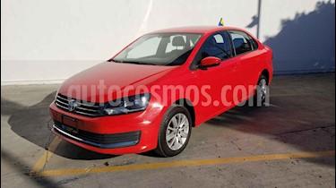 Volkswagen Vento 4p Confortline L4/1.6 Aut usado (2019) color Rojo precio $179,800