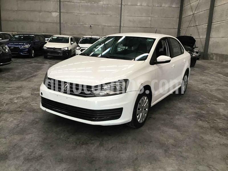 Volkswagen Vento Startline Aut usado (2017) color Blanco precio $63,000