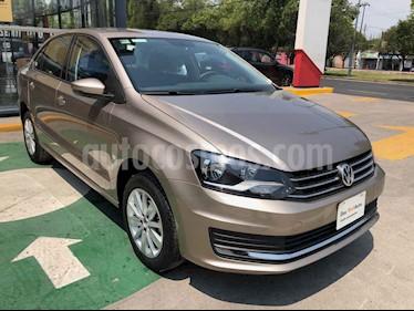 Volkswagen Vento 4p Confortline L4/1.6 Aut usado (2020) color Cafe precio $231,990