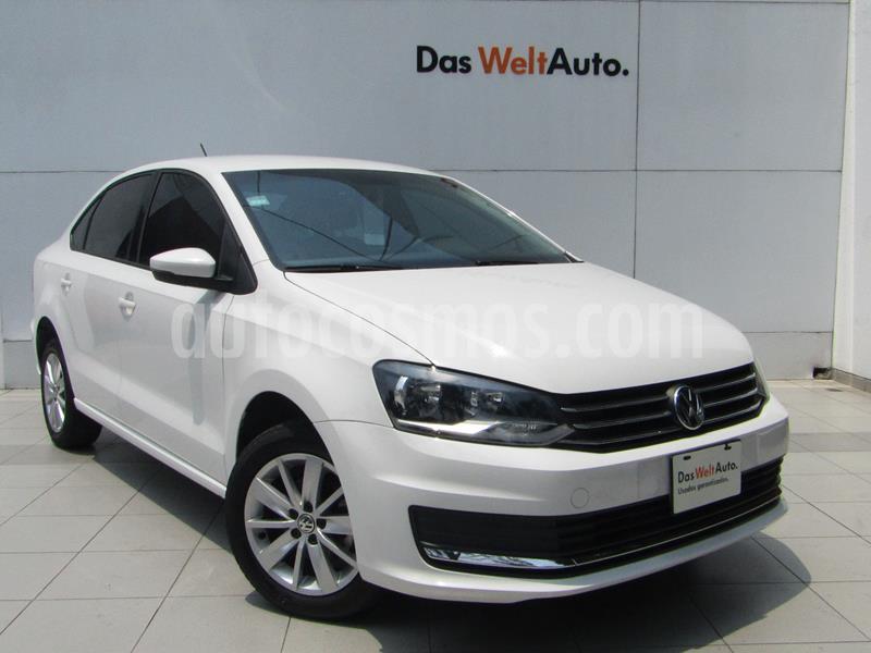 Volkswagen Vento Comfortline usado (2018) color Blanco Candy precio $174,000
