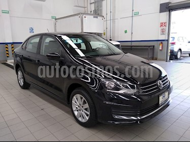 Volkswagen Vento Comfortline usado (2017) color Negro precio $185,000