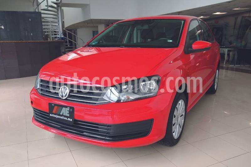 Volkswagen Vento Startline Aut usado (2018) color Rojo precio $159,900