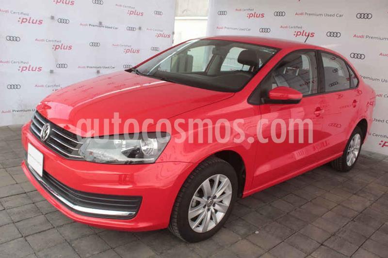 Foto Volkswagen Vento Comfortline usado (2020) color Rojo precio $203,500