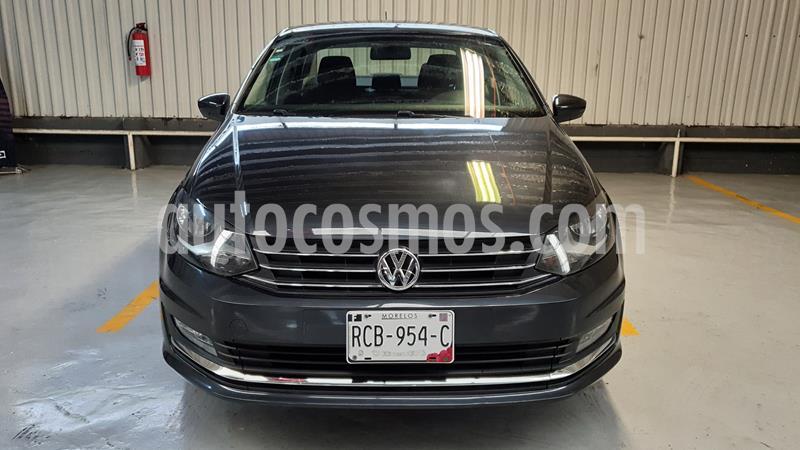 Volkswagen Vento Highline usado (2017) color Gris Carbono precio $185,000