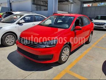 Volkswagen Vento 4p Starline L4/1.6 Aut usado (2018) color Rojo precio $160,000