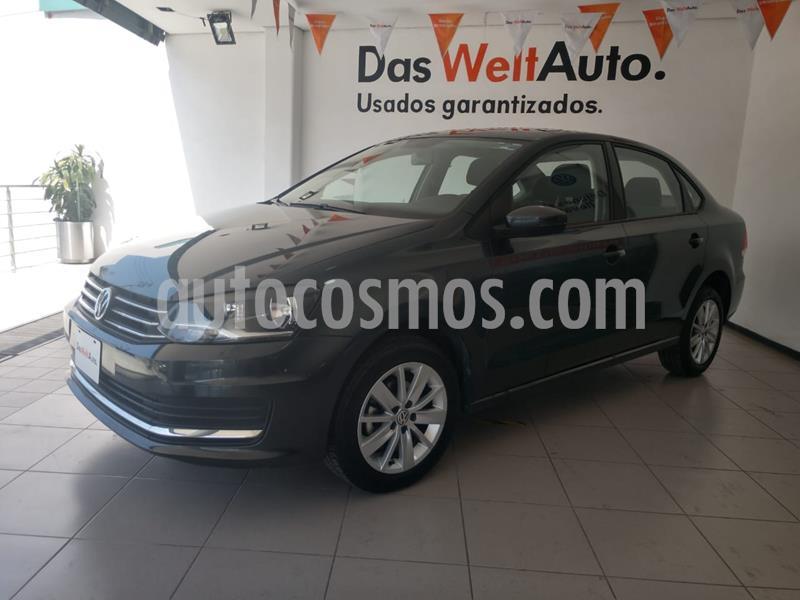 Volkswagen Vento Comfortline usado (2019) color Gris Carbono precio $219,000