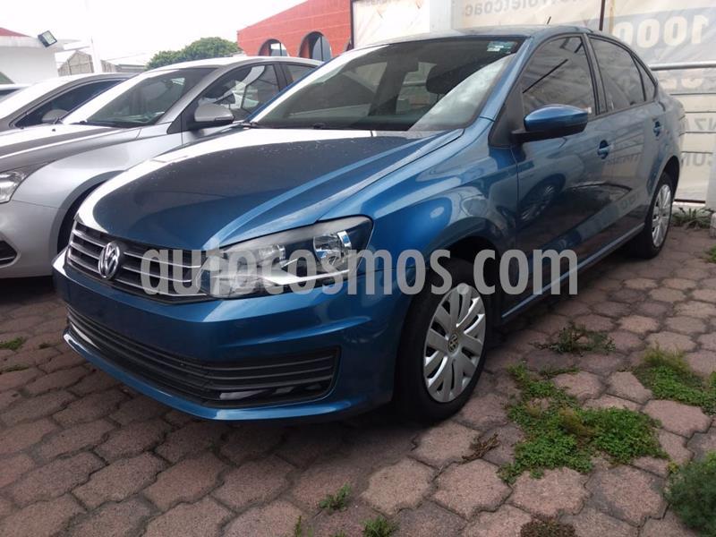 Volkswagen Vento Startline Aut usado (2018) color Azul precio $170,000