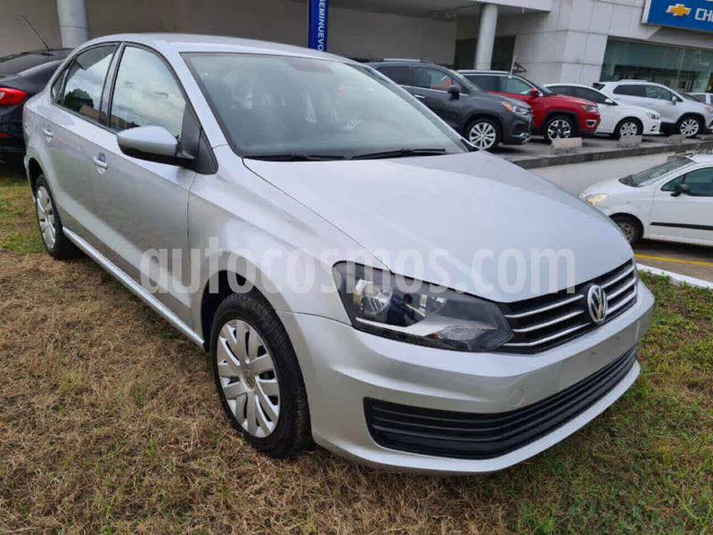 Volkswagen Vento Startline Aut usado (2019) color Plata precio $186,000