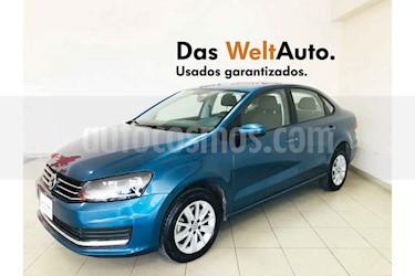 Volkswagen Vento 4p Confortline L4/1.6 Man usado (2019) color Azul precio $219,700