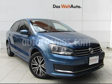 Volkswagen Vento Allstar usado (2017) color Azul Metalico precio $158,000
