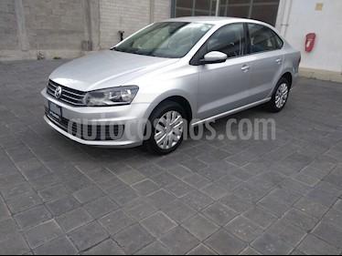 Volkswagen Vento Startline Aut usado (2018) color Plata Reflex precio $190,000