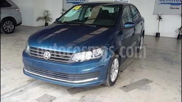 Volkswagen Vento Startline usado (2017) color Azul precio $185,000