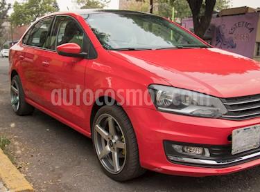 Volkswagen Vento Highline usado (2016) color Rojo Flash precio $149,000