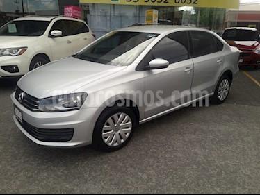 Volkswagen Vento Startline usado (2018) color Plata precio $175,000