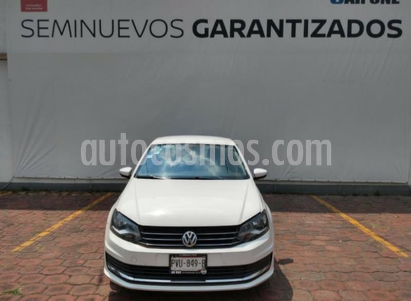 Volkswagen Vento Comfortline usado (2017) color Blanco Candy precio $155,000