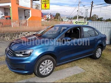Volkswagen Vento Startline usado (2018) color Azul Noche precio $155,000