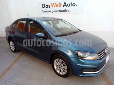 Volkswagen Vento 1.6L usado (2019) color Azul precio $235,000