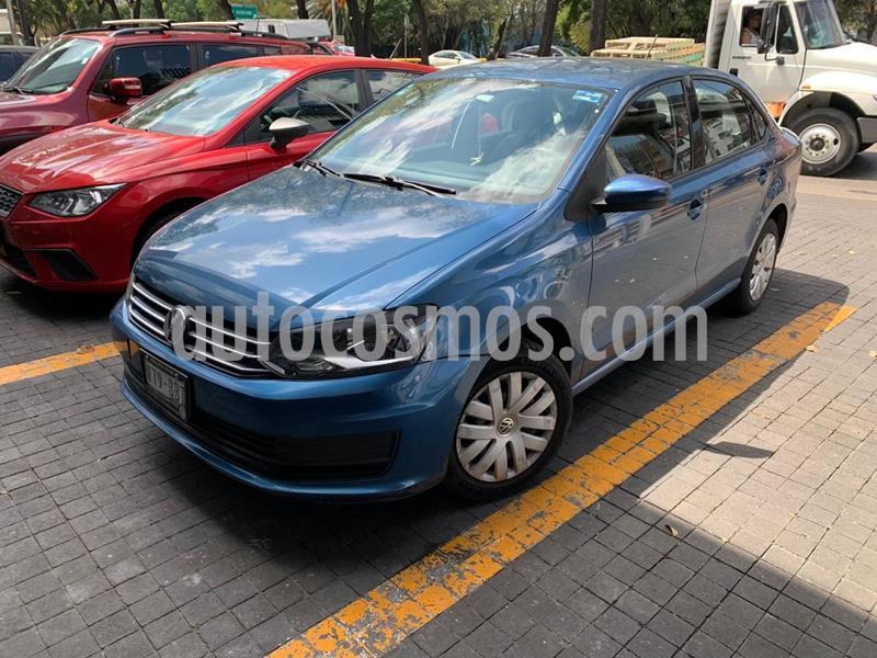 Volkswagen Vento Startline Aut usado (2017) color Azul precio $149,400